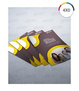 Mini Flyer | Couché 150g | 2.500 un. | 7x10 cm