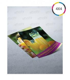 Mini Flyer | Couché 90g | 10.000 un. | 7x10 cm