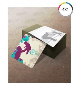 Postais | Verniz UV Total Frente | Couché 300g | 1.000 un. | 9x20 cm