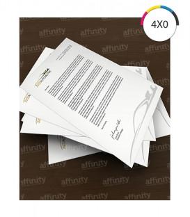 Papel Timbrado | Offset 90g | 50 un. | 21x29,7 cm