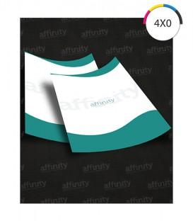 Receituários | Offset 90g | Sem blocagem | 100 un. | 15x21 cm